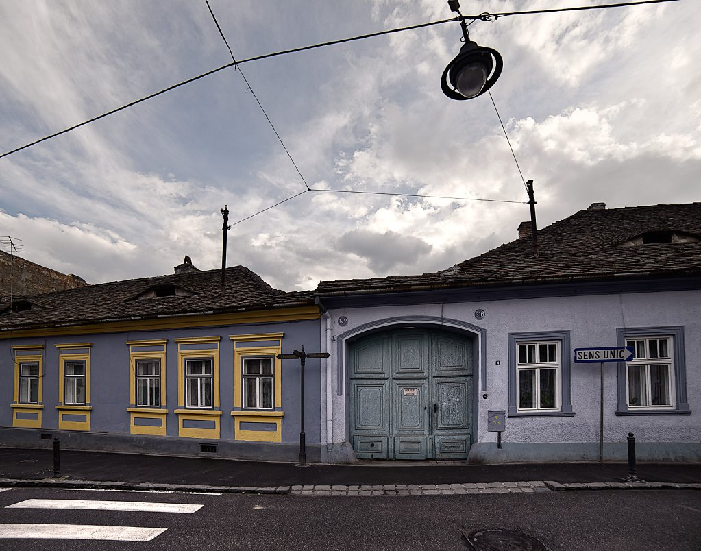 Straße in Sibiu