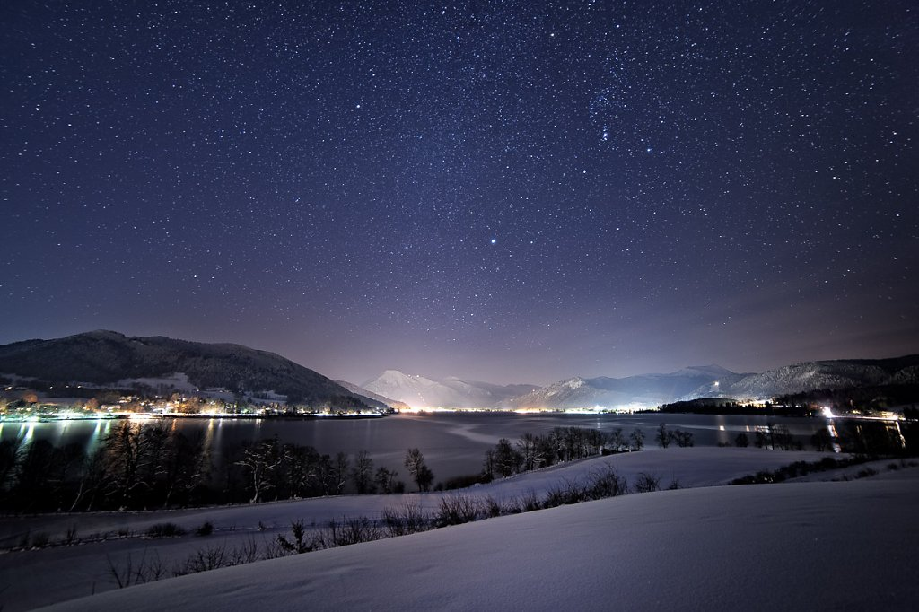 Tegernsee @ night